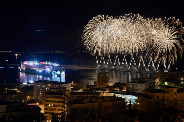AIDAperla, battesimo a Palma di Maiorca, AIDA Cruises