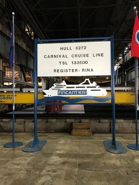 Carnival Cruise Line, Fincantieri
