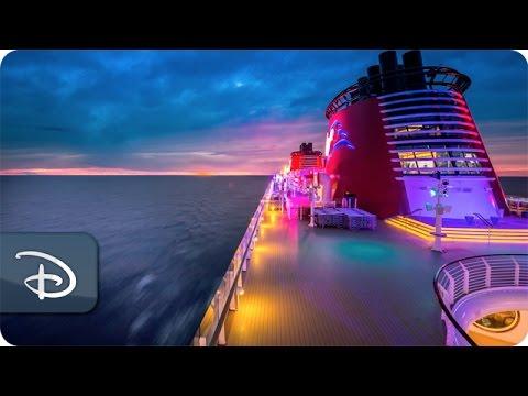Disney Magic: hyperlapse di una fiabesca giornata a bordo