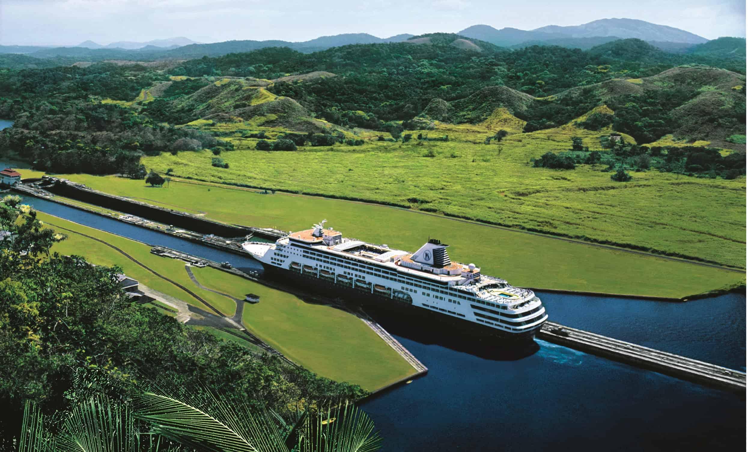 Canale Di Panama E Caraibi Del Sud Nella Nuova