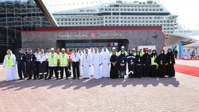 Abu Dhabi, al via nuovo servizio di taxi d'acqua per crocieristi. Collegamenti dal porto per il Louvre Abu Dhabi ed altri punti turistici