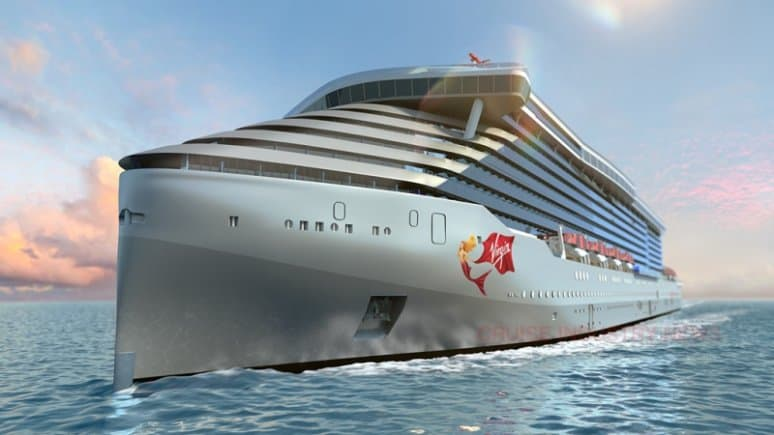 Rendering nuove navi Virgin Voyages