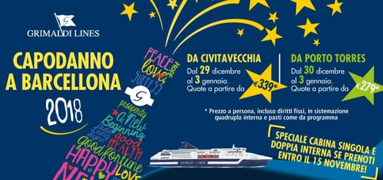 Capodanno a Barcellona Grimaldi Lines