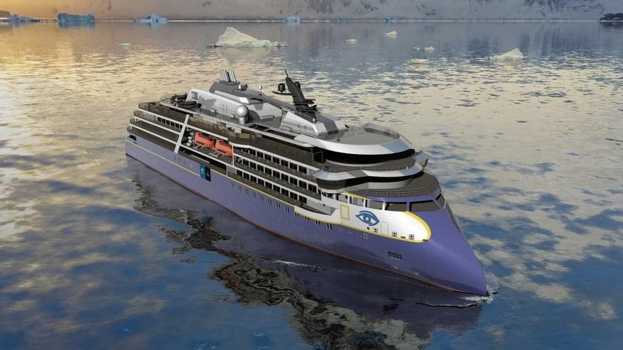 In Norvegia taglio della prima lamiera per la nuova nave polare Lindblad Expeditions