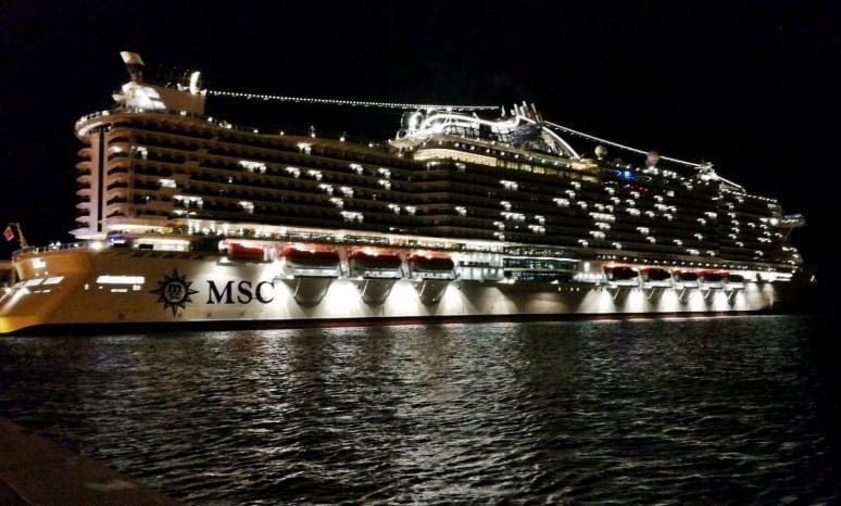 MSC Seaside, MSC Crociere, Trieste