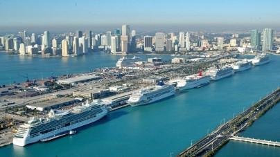 PortMiami: oltre 5,3 milioni di passeggeri movimentati in un solo anno. E' il primo porto crocieristico del mondo