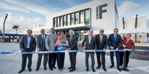 MSC Crociere e PortMiami celebrano l'apertura del nuovo Cruise Terminal F di PortMiami. Il 21 dicembre l'arrivo di MSC Seaside