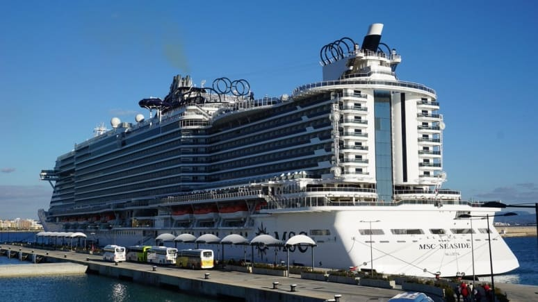 MSC Seaside, MSC Crociere, Palma di Maiorca