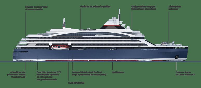 Nuova nave Ponant rompighiaccio