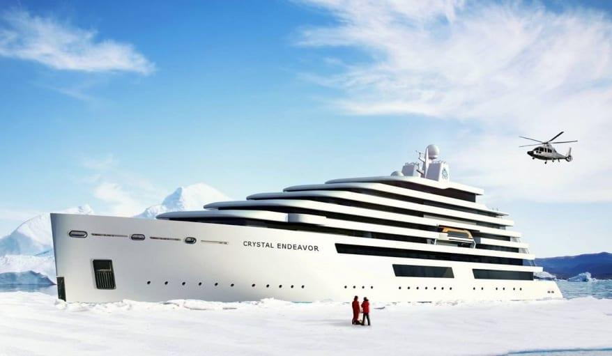 Crystal Expedition Cruises: taglio della prima lamiera per Crystal Endeavor, nuovo rivoluzionario yacht del brand