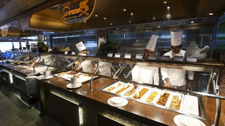 Costa Diadema Buffet, Costa Crociere