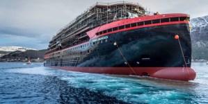 Hurtigruten: varo tecnico in Norvegia per MS Roald Amundsen. Sarà la prima nave da spedizione a propulsione ibrida