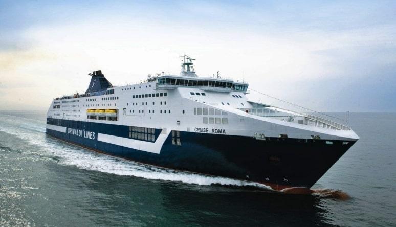 Cruise Barcelona, Grimaldi Lines