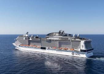 MSC Crociere: prime prove in mare concluse per MSC Bellissima