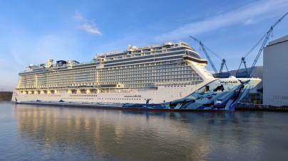 Norwegian Bliss inizia il suo viaggio verso il mare del Nord. Il debutto il prossimo 19 aprile