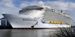 Symphony of the Seas, al via le operazioni di interporting a Civitavecchia