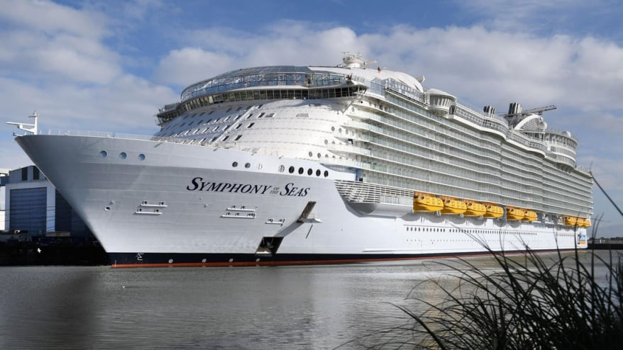 Royal Caribbean: consegnata a Saint-Nazaire Symphony of the Seas, la nuova nave più grande al mondo
