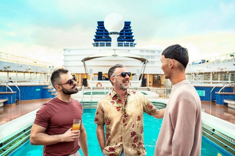 Crociera Gay nel Mediterraneo, Dreamlines, Open Sea Cruises x Axel_