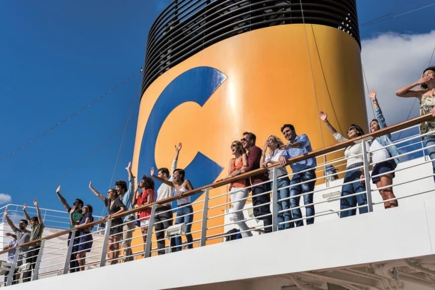 Costa Crociere, è record di soddisfazione degli ospiti
