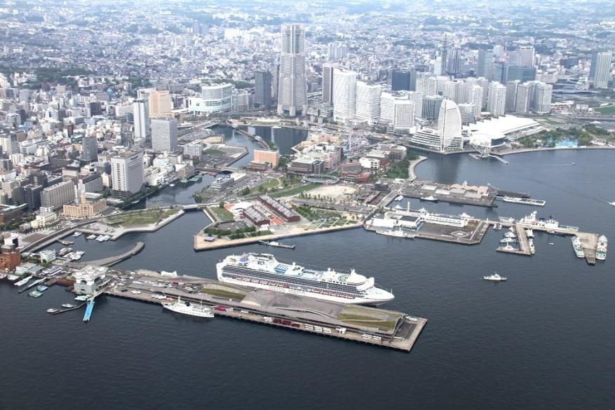 Porto di Yokohama: due nuovi terminal crociere in arrivo nel 2019