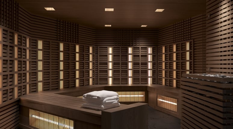 The Spa Celebrity Edge Infrared Sauna