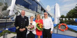 Crociere fluviali: battezzata in Germania la nuova luxury ship AmaLea