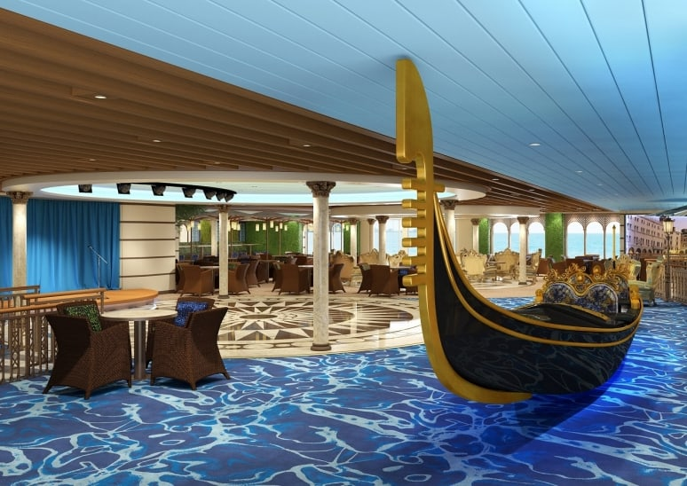 Costa Venezia, Costa Crociere+5_Gondola+Lounge