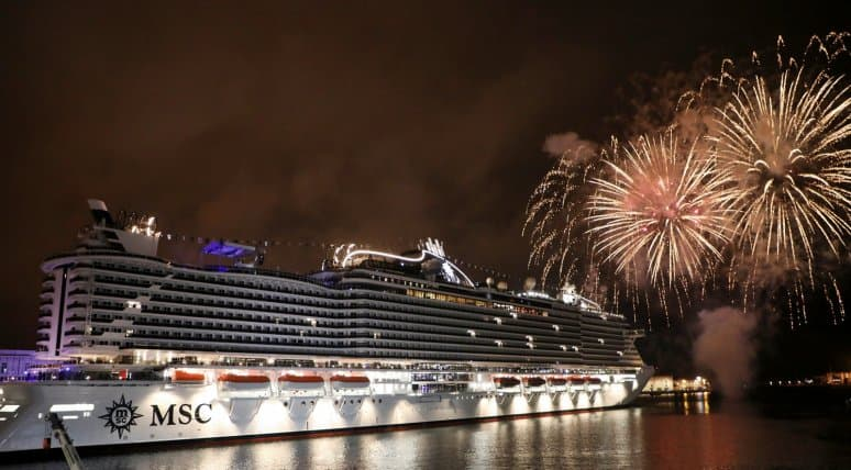 MSC Seaview is christened in Genoa-3