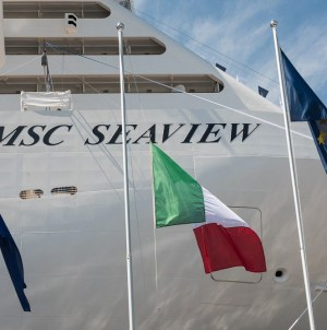 La Spezia celebra il maiden call di MSC Seaview