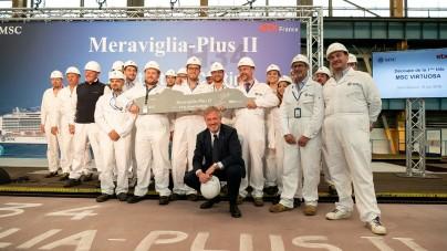 Da MSC Crociere la commessa da 900 milioni di euro per la quinta nave di classe Meraviglia