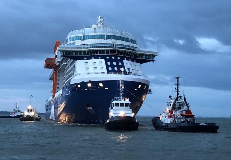 Celebrity Cruises: prime prove in mare per Celebrity Edge