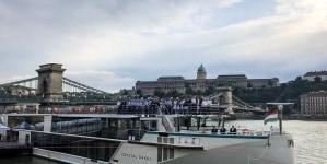 Crystal River Cruises: battesimo a Budapest per Crystal Ravel, quarta ed ultima unità di classe Rhine