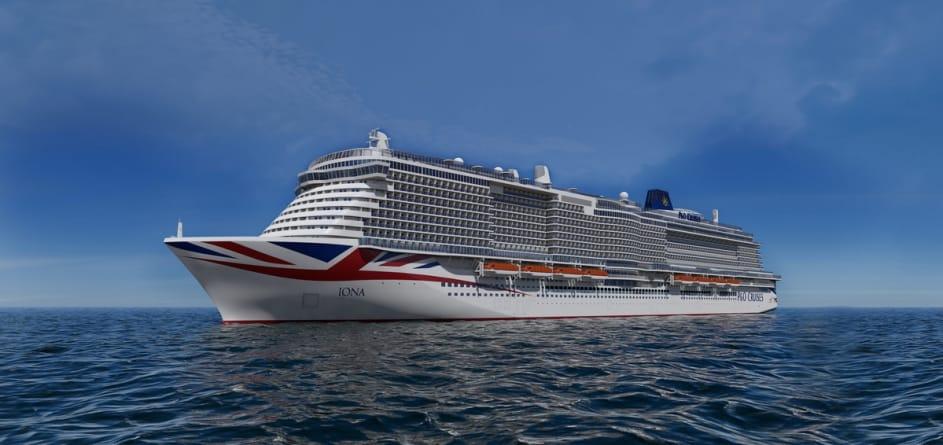 P&O Cruises: tutte le novità di Iona, la nuova ammiraglia in arrivo a maggio 2020