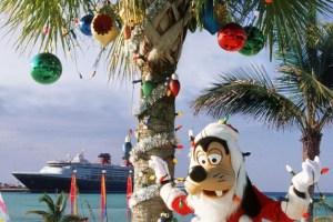 Natale a bordo di una nave Disney Cruise Line