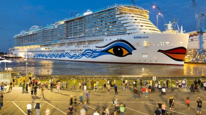 AIDA Cruises: float out per AIDAnova a Papenburg