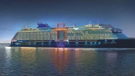 Celebrity Cruises: debutto a Southampton nella primavera 2020 per Celebrity Apex