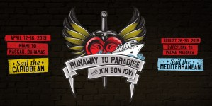 Norwegian Cruise Line ospita le crociere Runaway To Paradise ai Caraibi e nel Mediterraneo con Jon Bon Jovi