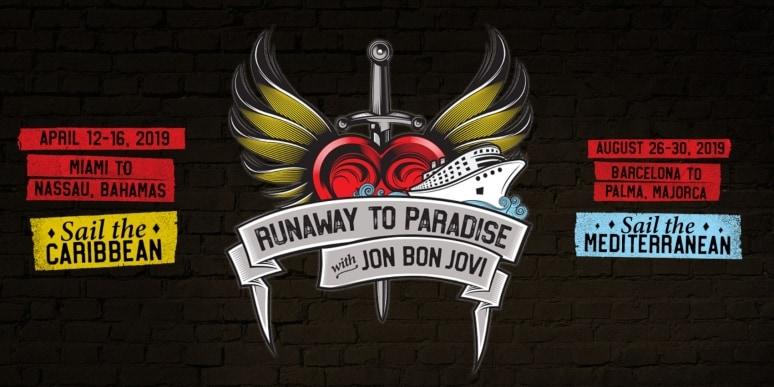 Runaway to Paradise, Norwegian Cruise Line, Jon Bon Jovi
