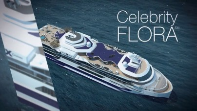 VIDEO: Celebrity Flora, i primi rendering ufficiali