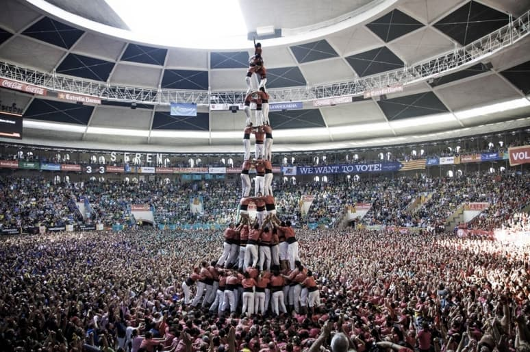 Human Towers - Exhibition Example 1