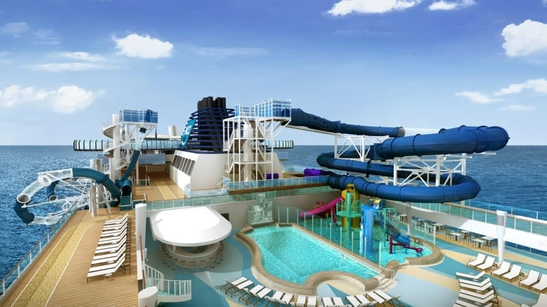 Norwegian Encore - Main Pool