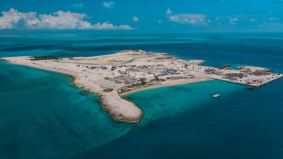 MSC Crociere: piantati i primi alberi sull'isola privata Ocean Cay. Il prossimo anno l'inaugurazione ufficiale