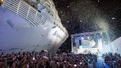 Royal Caribbean, PortMiami festeggia Symphony of the Seas. Il battesimo nella cornice del nuovo Terminal A