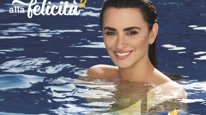 Penélope Cruz diventa una sirena per la nuova campagna pubblicitaria di Costa Crociere