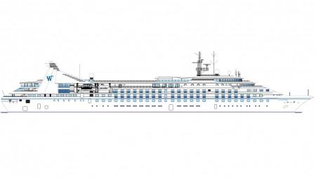 Windstar Cruises-Fincantieri: a Palermo l'allungamento delle tre unità di classe Star