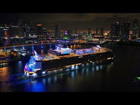 Symphony of the Seas arriva a Miami!