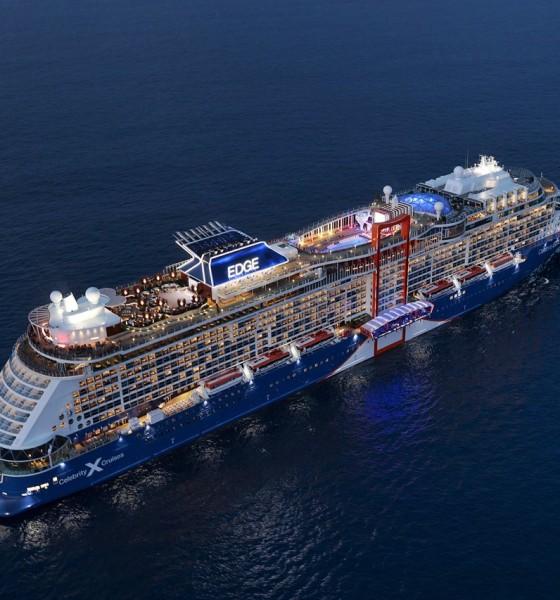 Celebrity Cruises ordina la quinta unità di classe Edge