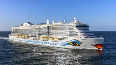 AIDA Cruises: maiden call a Barcellona per AIDAnova. È la prima unità fully-LNG a toccare il porto catalano