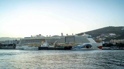 AIDA Cruises: debutto alle Canarie per la nuova ammiraglia LNG AIDAnova