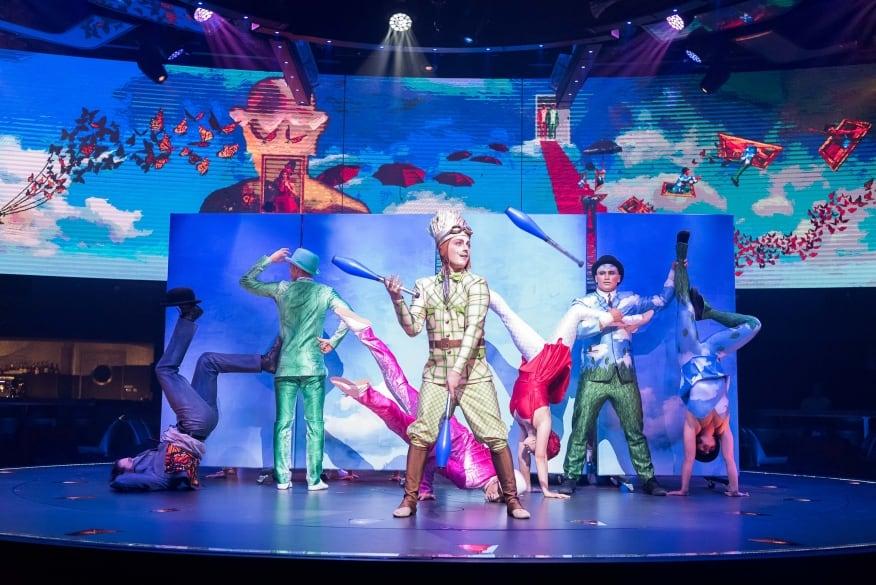 MSC Crociere: due nuovi show firmati Cirque du Soleil at Sea per MSC Bellissima